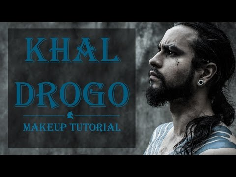 Khal Drogo Makeup Tutorial