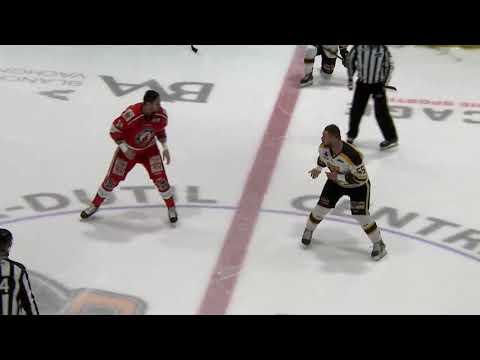 Dave Hamel vs. Patrick Bordeleau