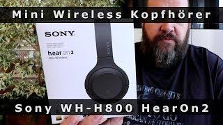Sony HearOn2 WH-H800 im Schnelltest - Knaller OnEar Kopfhörer mit Rumble-Bass