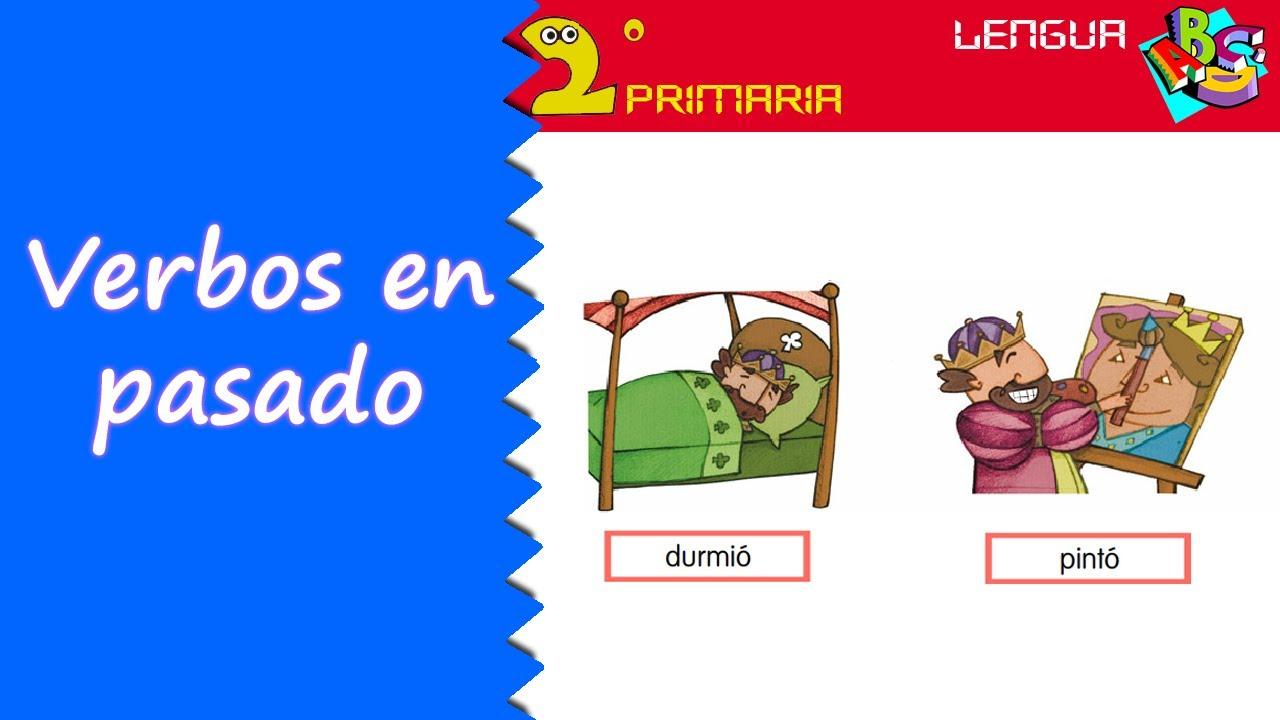 Lengua, 2º Primaria. Tema 12. Los verbos en pasado