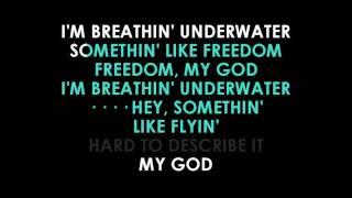 Emili Sande Breathing Underwater Lyrics Karaoke (guide Vocals)