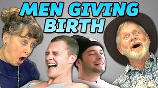 Elders React to Men Giving Birth