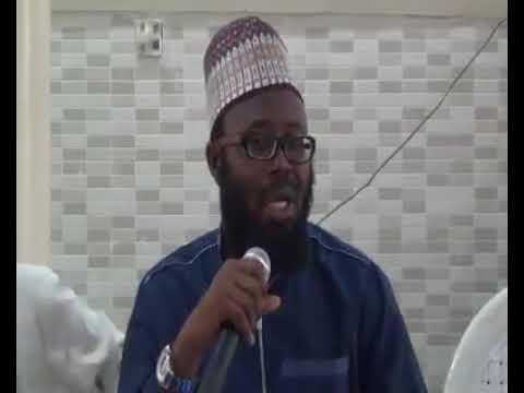 Example of contemporary partisan Islamic organization Sheikh abdulganiy jumah
