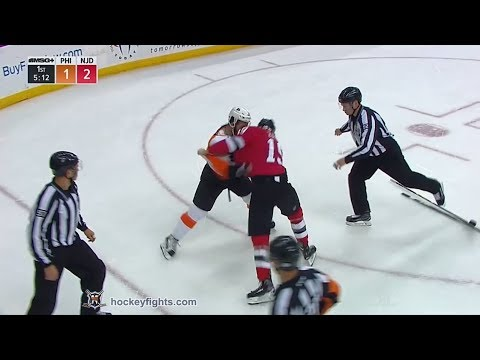 Radko Gudas vs Travis Zajac
