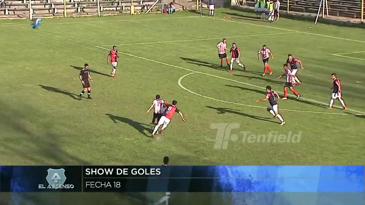 2a División | Show de goles de la 18a fecha