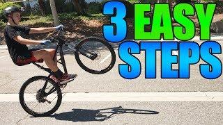 How To Wheelie A Mountain Bike | 3 Easy Steps!