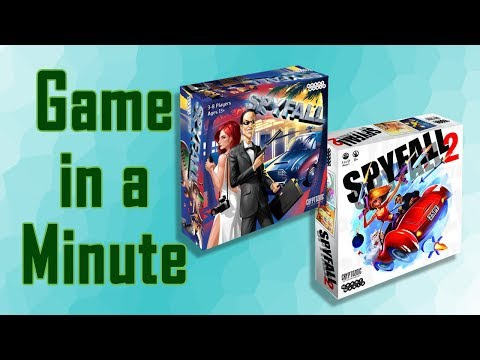 Game in a Minute Ep 73: Spyfall & Spyfall 2