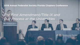 Click to play: The First Amendment/Title IX and Due Process at the Universities