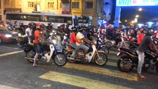 Motorcyclists Mat Rempit In KL