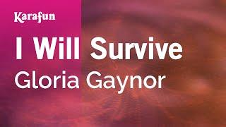 Karaoke I Will Survive - Gloria Gaynor *