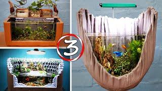 3 AMAZING IDEAS - Diy Aquarium For Your Family