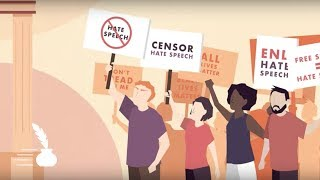 Click to play: Should Hate Speech Be Censored? [POLICYbrief]
