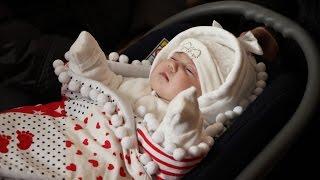 Католическое крещение ребёнка  . Беларусь. Видеосъёмка в Гродно.