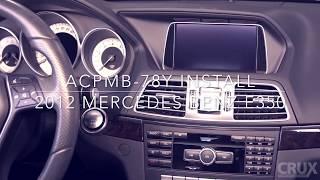 android auto mercedes e class w212 - TH-Clip