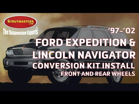 Ford Expedition Air Suspension Conversion Kit Install – 97-02