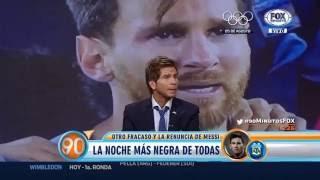 Messi anuncia su retiro del futbol por su bajo rendimiento en estos ultimos meses
