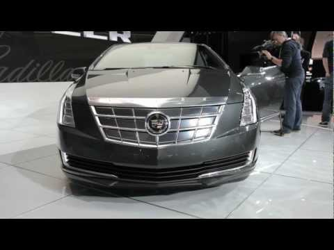 2014 Cadillac ELR First Look - 2013 Detroit Auto Show