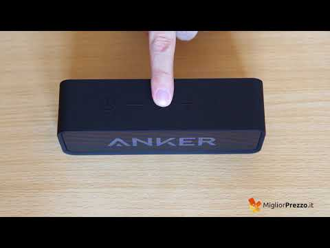 Speaker Bluetooth Anker SoundCore Video Recensione
