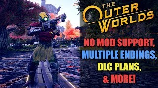 THE OUTER WORLDS: No Mod Support, Multiple Endings, DLC Plans, No Essential NPCs, & MORE!