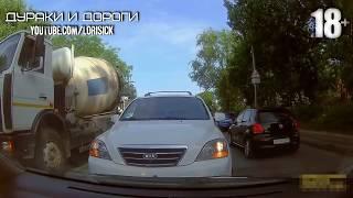 Неадекватные быдло водители #23
