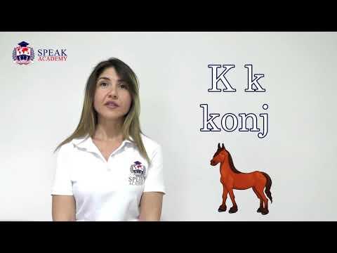 Serbian Lesson 1. - Alphabet - Serbian language courses