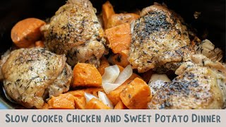 Slow Cooker Chicken And Sweet Potato Dinner