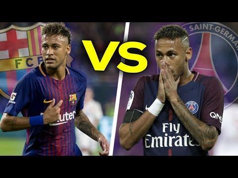Neymar in FC Barcelona VS Neymar in PSG ● Neymar Jr Crazy Skills Show | HD