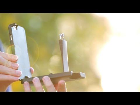 World's First Engagement Ring Phone Case