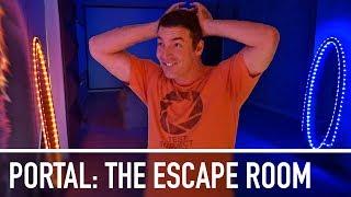 Portal: The Escape Room - ULTIMATE BIRTHDAY SURPRISE!