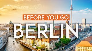 Things to know BEFORE you go to Berlin | Germany Travel Guide 4K