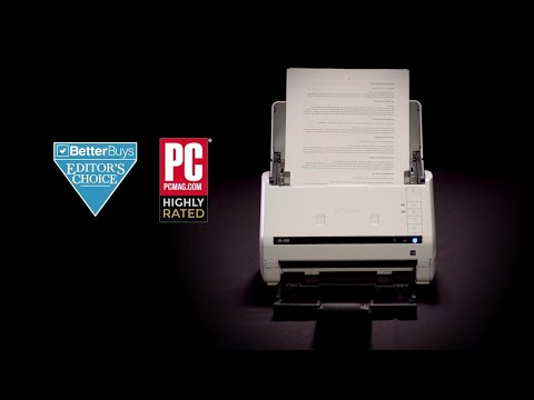Epson DS-530 Document Scanner   Compared with the Fujitsu ScanSnap iX500