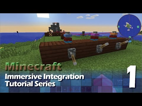 Immersive Integration Tutorial #1 - Redstone Wire