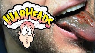 150 Warheads Challenge - Completed (WARNING: Painful Sour Candy) | Furious Pete