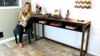 The $30 Console Table - Easy DIY Project