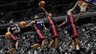 LeBron James Top 10 Career Dunks