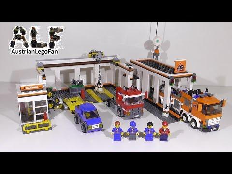 Vidéo LEGO City 7642 : Le garage