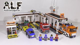 Lego City 7642 Garage / Grosse Autowerkstatt - Lego Speed Build Review