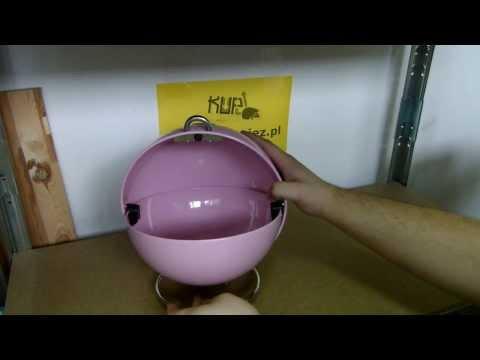 WESCO - SuperBall pojemnik Różowy W-223101-26 - www.kupujez.pl