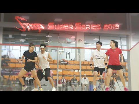 [매치업스쿼시] 박은옥-장현수 vs 오성령-임선용(S-Top Super Series 2019)