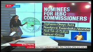 KTN Prime: Here are the Nominees for the hotly contested IEBC seat