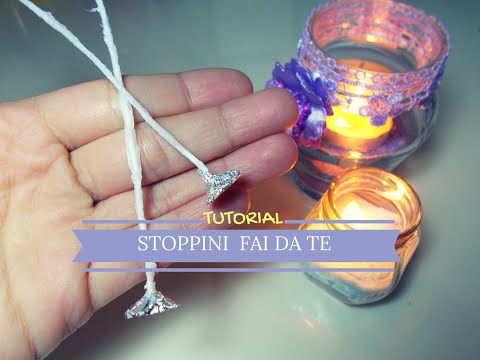 Stoppini Fai da Te per Candele ❖ TUTORIAL ❖ DIY Homemade Candle Wicks