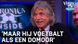 'Hij zat in De Slimste Mens, maar voetbalt als een domoor' | VERONICA INSIDE