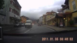 preview picture of video 'Fahrt  bei Unwetter  am 24 Juni 2014 nach Seeboden'