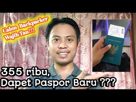 CARA MEMBUAT PASPOR UNTUK MAHASISWA RANTAU - BACKPACKER .....