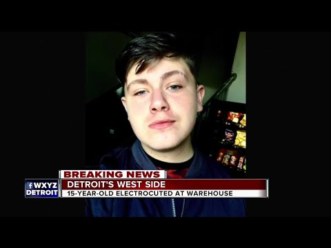 Teenager electrocuted on Detroit's west side