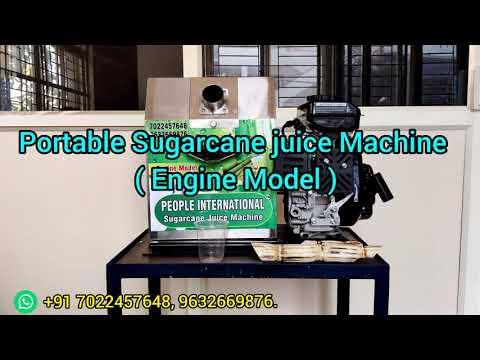 Petrol Engine Sugarcane Juice Machine