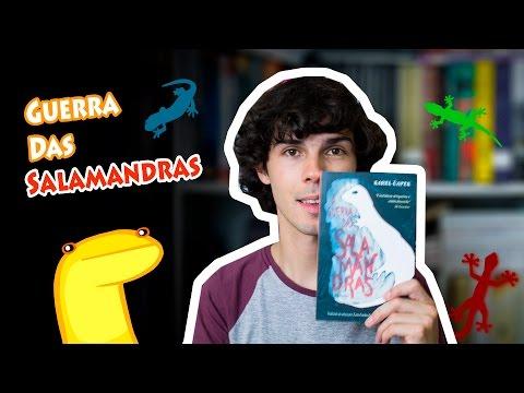 Livro A Guerra Das Salamandras