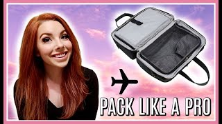 How To Pack A Carry-On Bag (Or Personal Item) LIKE A FLIGHT ATTENDANT