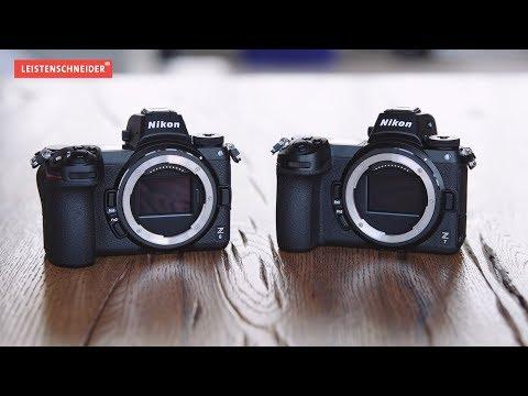 Kurz erklärt | Was kann die neue Nikon Z-Serie? | Systemkamera Nikon Z7 Z6 Hands On Review