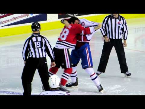 Brandon Bollig vs Zack Stortini